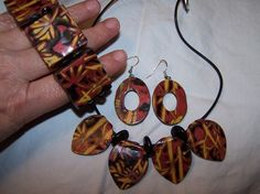 polymer clay jewelry   In The Sky There Is Cassiopeia: Polymer Clay tutorial.