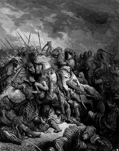 Third Crusade site where Christian forces defeated Muslim army identified Gustave Dore, Archaeology News, Middle Ages, Black Metal, Battle, Religion, Christian, Fine Art, Illustration