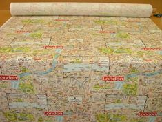 London Map Designer Cotton Curtain Upholstery Crafts Quilting Multi Use Fabric Pandoras Upholstery http://www.amazon.co.uk/dp/B00CPNY3PS/ref=cm_sw_r_pi_dp_DKj7vb1RX6BWY