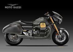 MOTO GUZZI RACING BAGGER EDITION by obiboi Moto Guzzi, Motorcycle Design, Automotive Design, Racing, Vehicles, Product Design, Behance, Illustration, Motorbikes