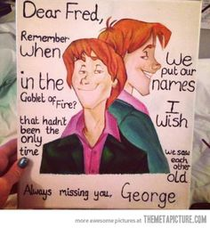 Harry potter george and fred art harry potter memes, harry potter Harry Potter Love, Harry Potter Fandom, Harry Potter Memes, James Potter, Familia Weasley, Percy Jackson, Tom Hiddleston, The Meta Picture, Weasley Twins