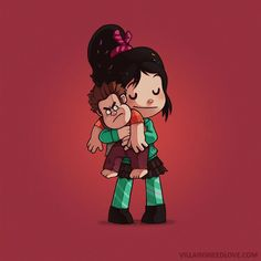 Vanellope [feat. Wreck-It Ralph] (Drawings by Naolito @Facebook) #WreckItRalph