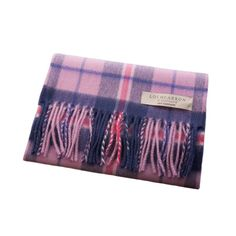 Lochcarron Pure Cashmere Scarf Made In Scotland Set 1: Douglas Heather Lochcarron Pure Cashmere Scarf Made In Scotland Set 1 Douglas Heather Dunedin Cashmere