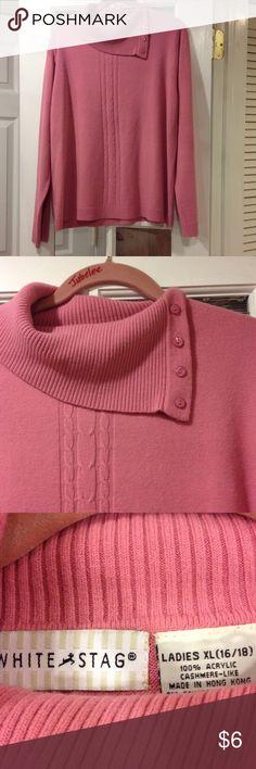 White Stag sweater XL good condition White Stag ladies XL (16-18) sweater good condition White Stag Sweaters Cowl & Turtlenecks
