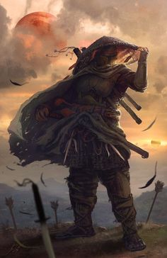 Samurai Boba Fett by Jose Vega *