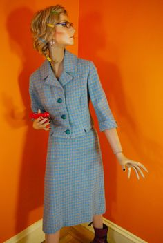 Vintage Spring Wool Suit 1960s by SecretAgentGirl on Etsy, $55.00