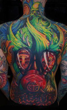 badass ink, bodi art, color, tattoos, skin ink, artist, tattoo art, ron antonick, tattoo ink