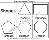 Corners and Sides – Triangle, Rectangle, Pentagon, Hexagon ...