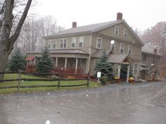 Waybury Inn- Middlebury, Vermont. Far up from where I'm from in MA, but I do love Vermont
