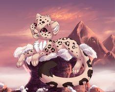 kleiner Schneeleopard