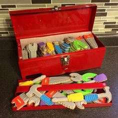 Tool box & tool cookie idea