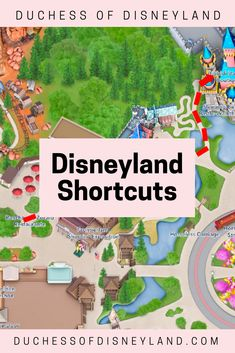 Disneyland Shortcuts Disneyland-Verknüpfungen Disney Tips and Tricks Disneyland Paris, Disneyland Christmas, Disneyland Secrets, Disneyland Vacation, Disney Vacation Planning, Disneyland California, Disney World Vacation, Disney Vacations, Disney Trips