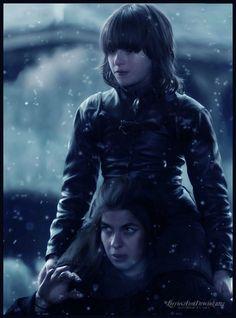Osha & Bran Stark  Game of Thrones