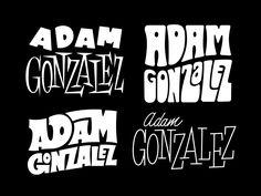 Adam gonzalez lettering dribbble large