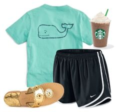 """""""exact oorn"""" by mackenziejameson ❤ liked on Polyvore featuring Vineyard Vines, NIKE and Jack Rogers"""