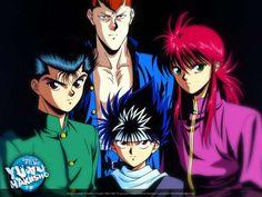 #yuyuhakusho #hiei #kurama #kuwabara #yusuke #anime #animesantigos #oldschoolanime