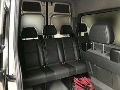 Selling sprinter van seats 3 rows out of a 2016 Sprinter Mercedes – auto parts – by owner