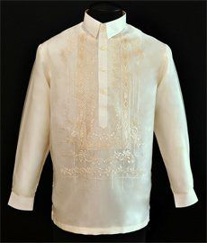 Organza Barong Tagalog - Barongs R us Barong Tagalog Wedding, Barong Wedding, Barong Tagalog For Women, Filipiniana Dress, Wedding Movies, First Communion Dresses, Line Shopping, Formal Looks, Old Hollywood Glamour