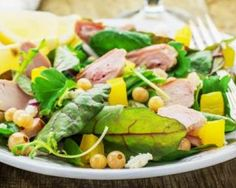 Healthy Salad Recipes, Skinny Recipes, Light Recipes, Vegetable Recipes, Entrees, Healthy Life, Nutrition, Lunch, Meals