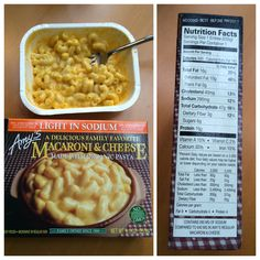 My favorite of Amy's low sodium meals. Mac and Cheese!! 290mg found at my local Fred Meyers