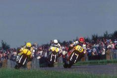 Silverstone 1980 Mamola, Roberts, Luchinello