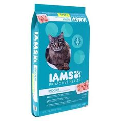 Iams Proactive Health Indoor Weight & Hair Care - Dry Cat Food - 16lbs