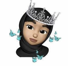 Drawing Cartoon Characters, Cartoon Drawings, Hijab Drawing, Girl Emoji, Alphabet Wallpaper, Anime Muslim, Hijab Cartoon, Panda Art, Girls Mirror