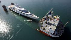 Iate de Luxo era um ex navio militar de guerra!