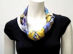 More Scarf Jewelry Tutorials and Inspirations - The Beading Gem's ...