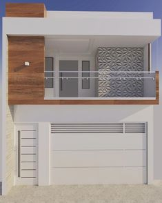 Ideas For Home Architecture Styles Front Elevation House Front Design, Modern House Design, Door Design, Home Architecture Styles, Facade House, Home Design Plans, Trendy Home, Minimalist Home, Minimalist Design