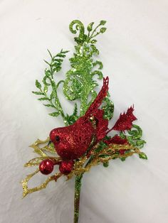 Sprays, Glitter, Brooch, Texture, Red, Christmas, Color, Jewelry, Surface Finish