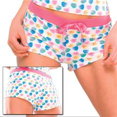 Candy Heart Boxer Shorts $12.95 but You can get this or almost any other single item for 50% OFF + Free Shipping + DVDS and Mystery GIFT when you use the code PINIT @ checkout at www.AdamAndEve.com.