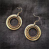 Secil Silver Boho Earrings Hypoallergenic wires 925 Silver plated, handcrafted