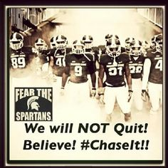Fear the Spartans!