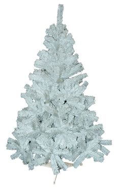 5ft 150cm NATURAL FEEL WHITE PINE ARTIFICIAL CHRISTMAS TREE 350 TIPS TREEW5