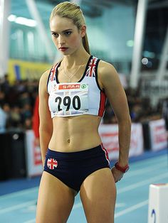"""Lily James in """"Fast Girls"""""""