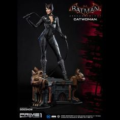 Pre-order Sideshow and Prime 1 Studio are proud to present Catwoman from Batman: Arkham Knight. Selina Kyle, also known by her alias Catwo. Batman Arkham Knight Catwoman, Arkham Knight Costume, Catwoman Comic, Catwoman Cosplay, Batman Arkham City, Batman Comic Art, Batman Comics, Dc Comics, Batman Robin