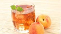 Pfirsich-Eistee #Drink #Rezept