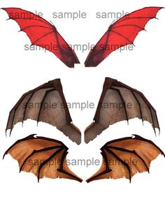 OOAK Dragon, Bat, Goth Dolffie Barbie Fairy Wings