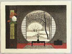 Snow Garden by Kazuyuki Ohtsu born 1935