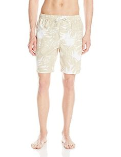 59970985d3 Columbia Men's Lakeside Leisure Print Drawstring Swim Short, Dark  Mirage/Stripe, Medium | Amazon.com