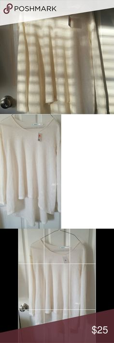 White Knit Urban Outfitters Sweater A white knit Urban Outfitters Sweat NEVER WORN WITH TAGS. Motivated to sell quickly. Urban Outfitters Sweaters