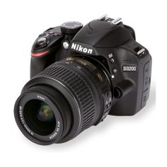 Nikon D3200 review ❤ liked on Polyvore featuring camera