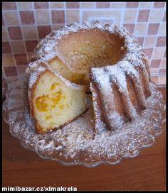 jogurtovo mandarinková výborná bábovka. Eastern European Recipes, Bunt Cakes, Czech Recipes, Oreo Cupcakes, Scones, Baked Goods, French Toast, Food And Drink, Cooking Recipes