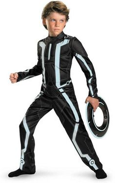 Evin's costume this year, but it will be lit up! Tron Legacy Disney Costume