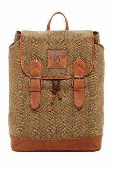 awesome tweed backpack