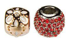Oceľové koráliky z chirurgickej ocele sú ozdobné koráliky so širokým prieťahom určené na výrobu jedinečných vymeniteľných šperkov za prijateľnú cenu. Floral, Rings, Jewelry, Fashion, Moda, Jewlery, Jewerly, Fashion Styles, Flowers