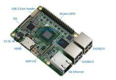 UP  Intel x5-Z8300 board in a Raspberry Pi2 form factor