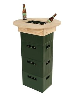 -ELK table top beer box, beige similar projects and ideas as shown in the picture you can find i Arte Pallet, Interior Design Living Room, Siena, Diy Gifts, Wood Projects, Diy Furniture, Diy And Crafts, Woodworking, Cool Stuff