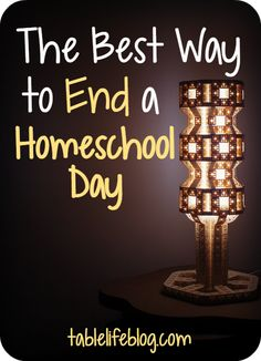 Homeschool can consume all of my time if I let it. I've learned the best way to end my homeschool day is to make the most of my time off through three steps.